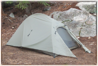 Tent. My Big Agnes Seedhouse ... & Grading My John Muir Trail Thru-Hike Gear Choices: Tent